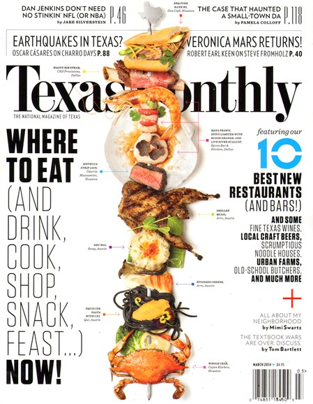 Texas Monthly Cover - 3/1/2014