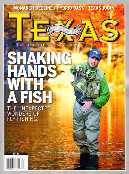 Texas Parks & Wildlife Cover - 3/1/2014