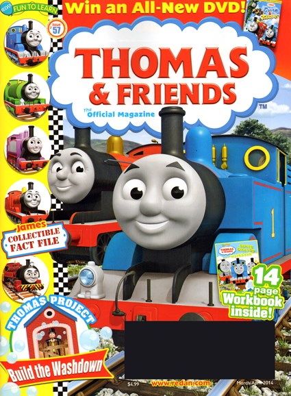 Thomas & Friends Cover - 3/1/2014