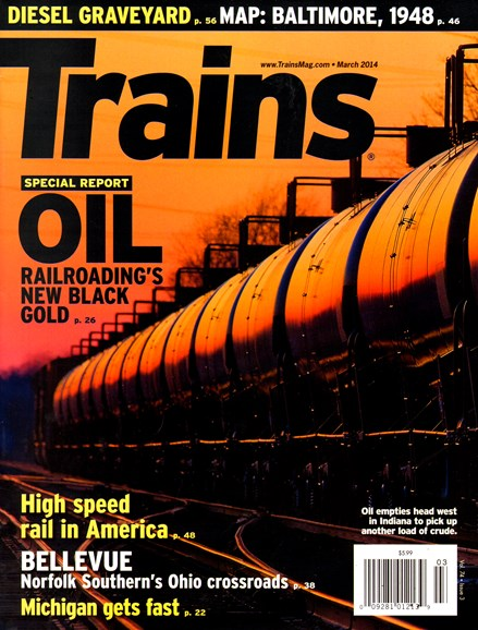 Trains Cover - 3/1/2014