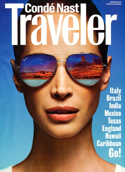 Condé Nast Traveler Cover - 3/1/2014