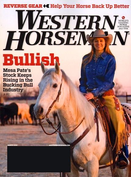 Western Horseman Cover - 3/1/2014