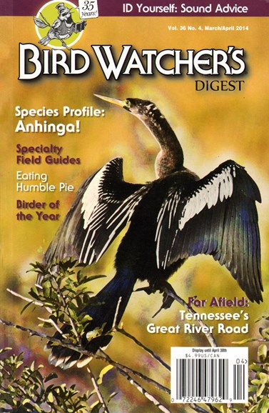 Bird Watcher's Digest Cover - 3/1/2014