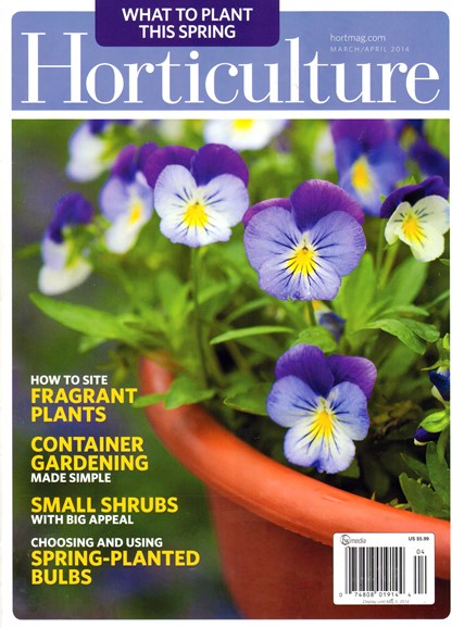 Horticulture Cover - 3/1/2014