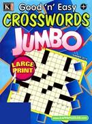 Good N Easy Crosswords Jumbo Magazine 6/1/2014