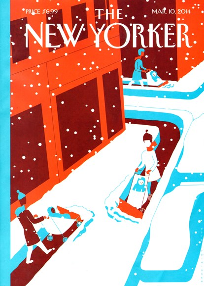 The New Yorker Cover - 3/10/2014