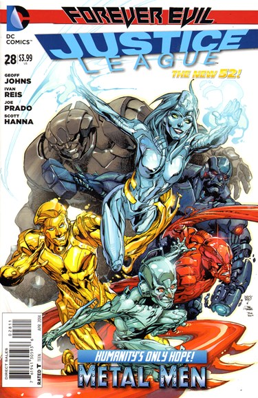 Justice League Cover - 4/1/2014