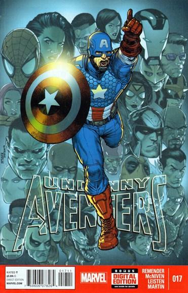 Uncanny Avengers Cover - 4/1/2014