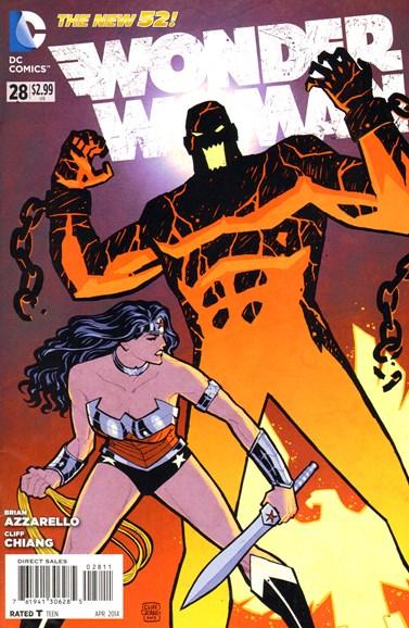 Wonder Woman Cover - 4/1/2014