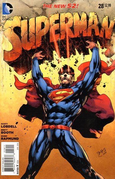 Superman Cover - 4/1/2014