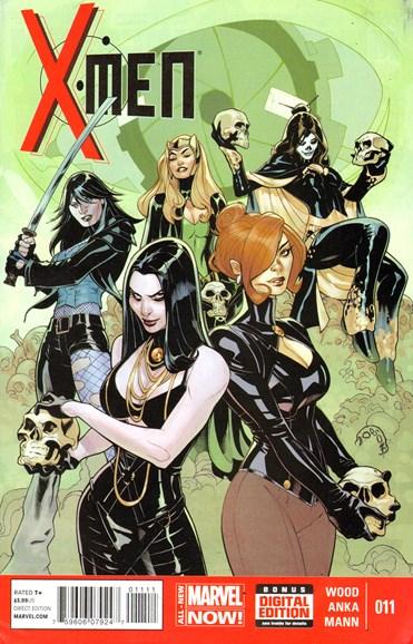 X-Men Gold Cover - 4/1/2014