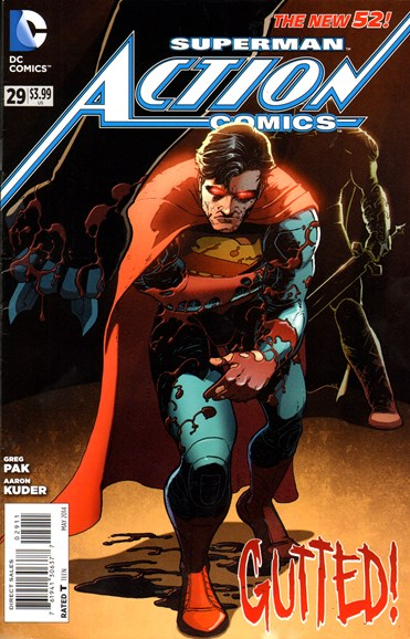Action Comics Cover - 5/1/2014
