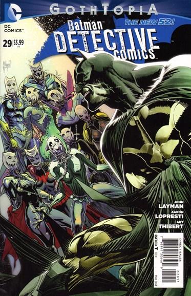 Detective Comics Cover - 5/1/2014