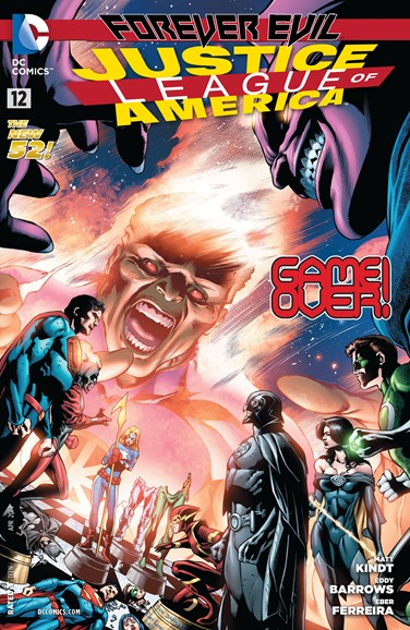 Justice League of America Cover - 4/1/2014