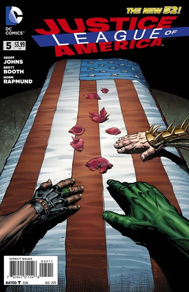Justice League of America Cover - 8/1/2013