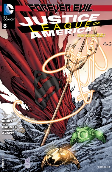 Justice League of America Cover - 12/1/2013