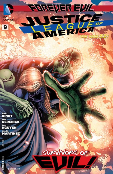 Justice League of America Cover - 1/1/2014