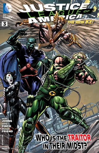 Justice League of America Cover - 6/1/2013