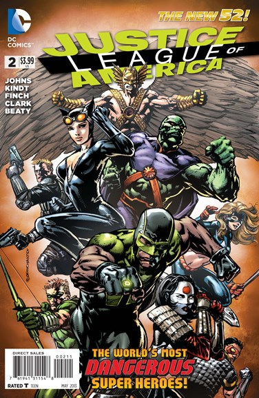 Justice League of America Cover - 5/1/2013