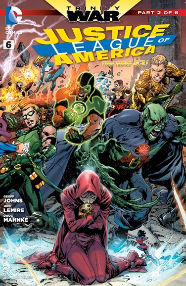 Justice League of America Cover - 9/1/2013