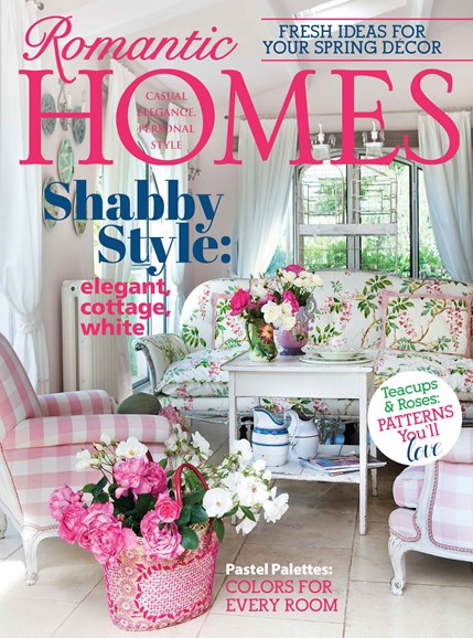 Romantic Homes Cover - 3/1/2014