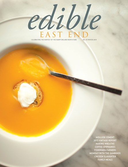 Edible East End Cover - 1/1/2014