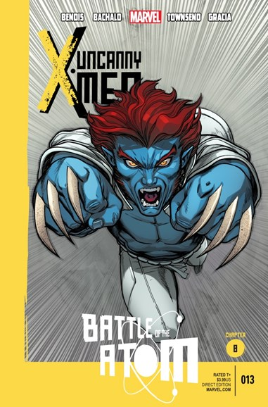 Astonishing X-Men Cover - 12/1/2013