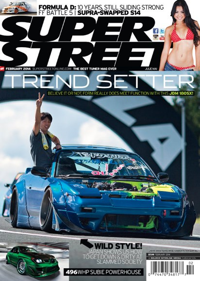 Super Street Cover - 2/1/2014