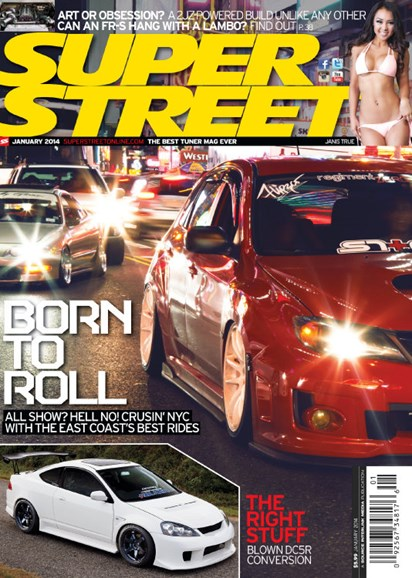 Super Street Cover - 1/1/2014