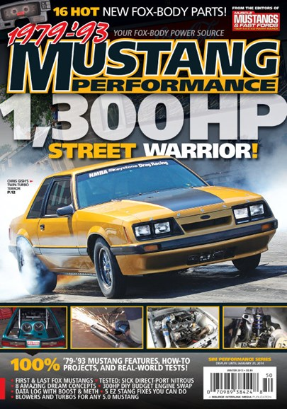 Muscle Mustangs & Fast Fords Cover - 1/15/2014