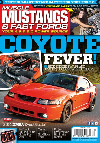 Muscle Mustangs & Fast Fords Cover - 4/1/2014