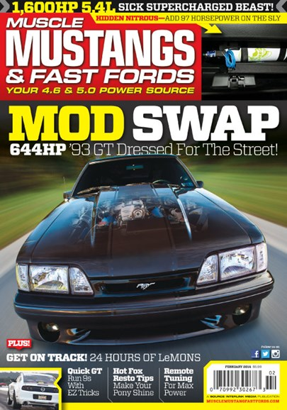 Muscle Mustangs & Fast Fords Cover - 2/1/2014