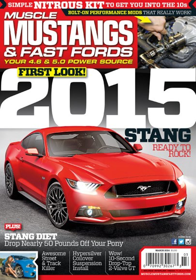 Muscle Mustangs & Fast Fords Cover - 3/1/2014