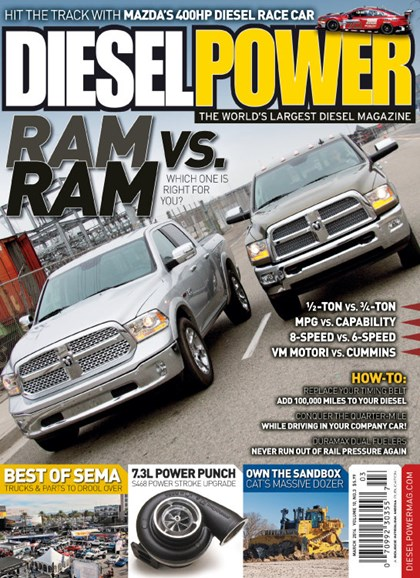 Diesel Power Cover - 3/1/2014