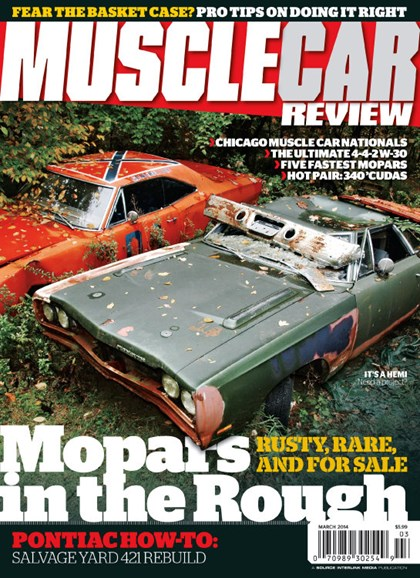 Muscle Car Review Cover - 3/1/2014