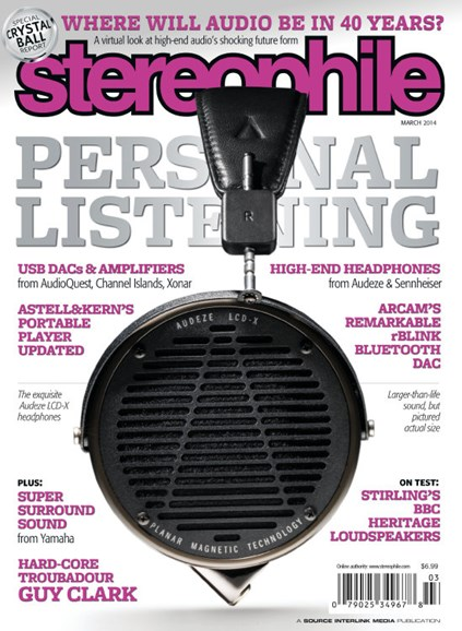 Stereophile Cover - 3/1/2014
