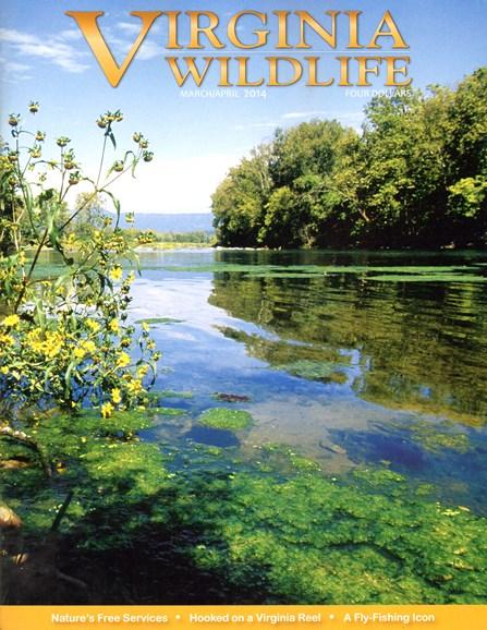 Virginia Wildlife Cover - 3/1/2014