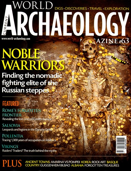 Current World Archaeology Cover - 2/1/2014
