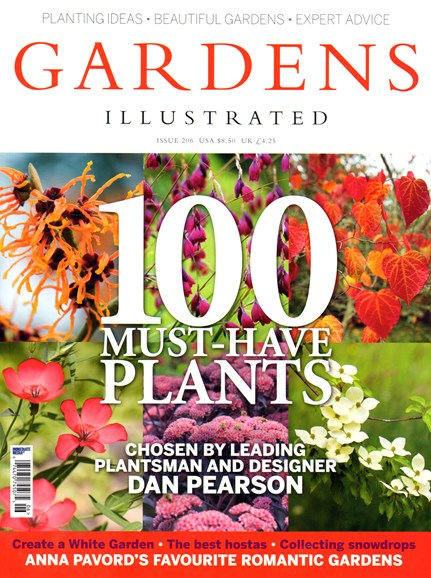 Gardens Illustrated Cover - 2/1/2014
