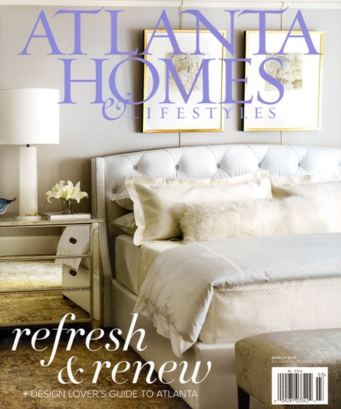 Atlanta Homes & Lifestyles Cover - 3/1/2014