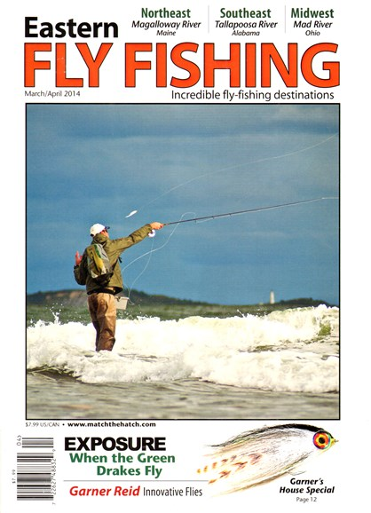 Eastern Fly Fishing Cover - 3/1/2014