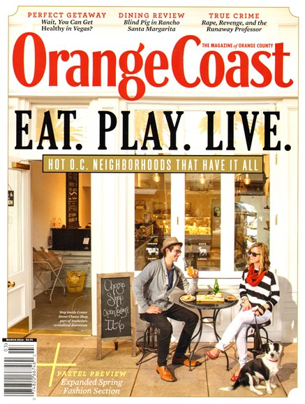 Orange Coast Cover - 3/1/2014