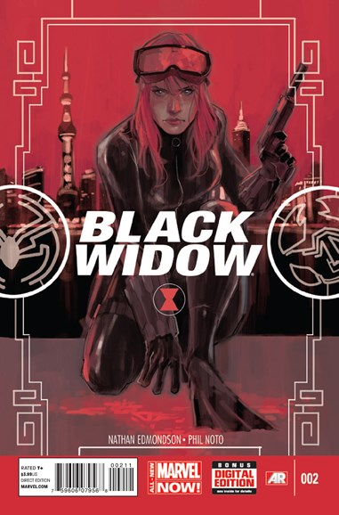 Black Widow Cover - 3/15/2014