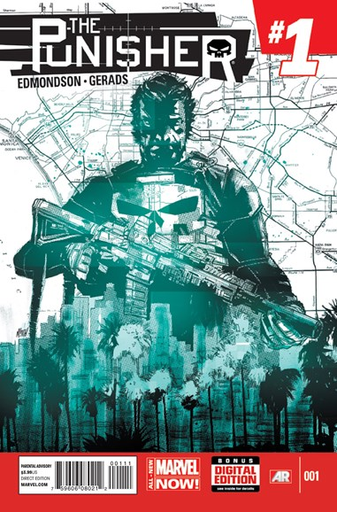 The Punisher Cover - 4/1/2014