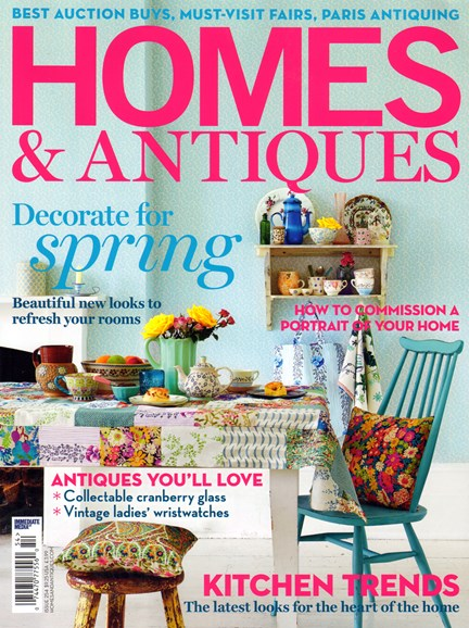 Homes & Antiques Cover - 3/1/2014