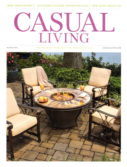 Casual Living Cover - 3/1/2014