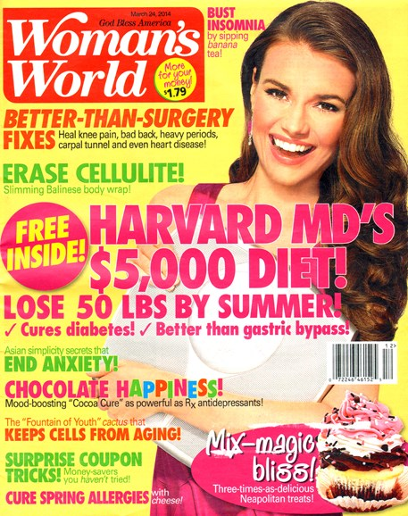 Woman's World Cover - 3/24/2014