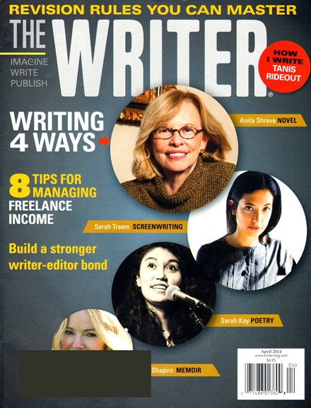 The Writer Cover - 4/1/2014