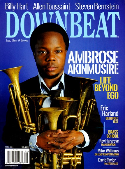 DownBeat Cover - 4/1/2014
