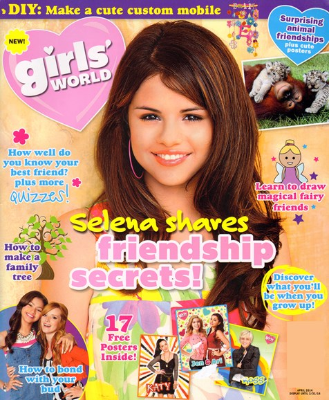 Girls' World Cover - 4/1/2014